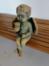 Ceramic Angel Blowing Kisses Shelf Sitter Figurine