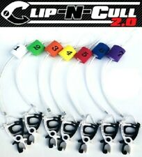 CAL COAST CLIP N CULL 2.0 7pc Puncture Free Cull Tag with Color Floats & Bracket