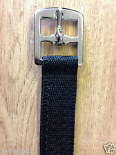 """PAIR of ADULT STIRRUP Leathers, synthetic 54"""". 1in wide, webbing, web, colours"""