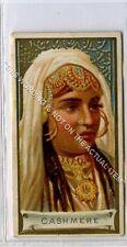 More details for (ga6544-376) allen & ginter, types of all nations, cashmere, kashmir 1889 g-vg