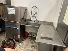 More details for commercial dishwasher with table pas through