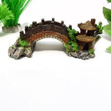 Bridge Aquarium Fish Tank Decoration Ornament Landscape Bridge #HD3