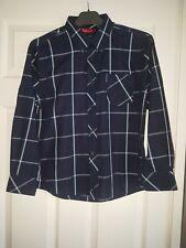 Boys 100% Cotton Striped Shirts in Navy Red White by BEN SHERMAN size Medium