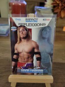 TNA Mark Haskins #25 2012 Reflexxions SILVER Parallel Card /40