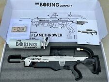 NEW Boring Company Not-A-Flamethrower + $5 Letter + Extinguisher NEVER USED