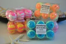 WHOLESALE resell 24 x Aromatherapy Bubble Bath Bombs 4 DIFFERENT FRAGRANCES
