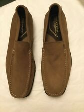NEW Rockport  Men's Tan Suede Slip-on Loafer - 9.5 M