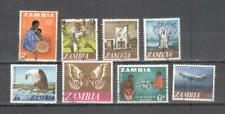 S9322 - ZAMBIA - LOTTO 8 EMISSIONI TEMATICHE - VEDI FOTO