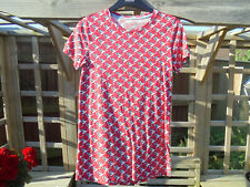 BODEN NICE LOOKING LIGHTWEIGHT PRINTED CREW NECK WO130  SIZE S==SIZE 8--10