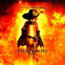 PUSS IN BOOTS Movie POSTER 30x30 Billy Bob Thornton Amy Sedaris Antonio Banderas