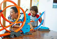 Mattel Hot Wheels Doppel-Booster Powerbahn Spielbahn Kinderspiel Spielzeug
