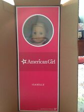 AMERICAN GIRL Isabelle Girl of the Year 2014 Doll NEW IN BOX Book w/Ear Piercing