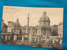 Vintage Postcard Italy Roma Rome Foro Traiano divided back