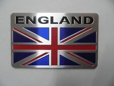 ENGLAND Flagge, 3D - Alu Sticker, Fahne, Aufkleber, UK, British flag,