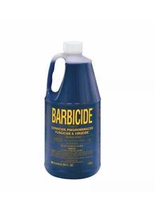 Barbicide  Solution Disinfectant, Germicide, Anti Rust Formula -1.89L salon size