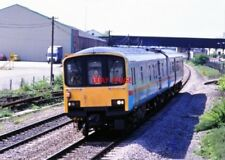 PHOTO  CLASS 150 TEST TRAIN AT COLTHROP 1991