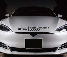 Adesivo cofano delle prestazioni si adatta OPEL ZAFIRA MANTA Premium Qualità Decalcomanie RS33