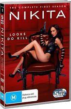 Nikita : Season 1 - DVD Region 4 Like New Free Shipping