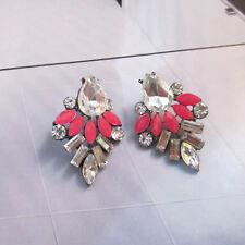 NWOT * NEW Chic Boutique Shourouk Mica Fringe Gemmed Pink Necklace