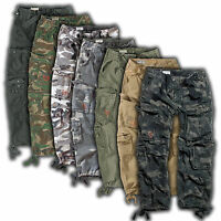 SURPLUS CARGO HOSE AIRBORNE VINTAGE US ARMY PANTS OUTDOOR FREIZEIT BW BIKER ROCK