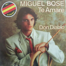 "7"" 1981 GERMAN PRESS ! MIGUEL BOSE : Te Amare /MINT-"