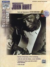 Country Blues Guitar Mississippi John Hurt Learn to Play TAB Music Book & CD