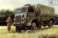 BEDFORD QLD GENERAL SERVICE MILITARY TRUCK (BRITISH RAF & POLISH MKGS) 1/72 IBG