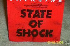 "JACKSONS STATE OF SHOCK - RARE AUSTRALIAN 7"" 45 VINYL RECORD P/S"