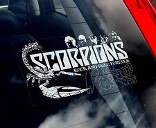 Scorpions - Car Window Sticker - Music Heavy Metal Rock Sign Art Gift