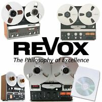 Revox b77 a77 pr99 a700 tape recorder reel reel operation service manuals cd NEW