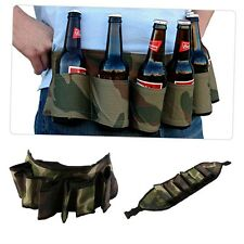 Party Beer & Soda Drink Can Belt 6 Pack Holster - Great For Beer Lovers 0A9