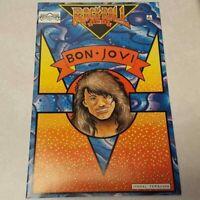 Bon Jovi Rock N Roll Comics Book 1989 Revolutionary VF-NM Jon