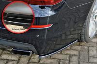 Heckansatz Spoilerecken Seitenteile aus ABS für BMW 5er F10 F11 Schwarz Glanz
