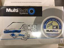 Multi-Tech MT128NTZLX MultiMobile Modem 128 ISDN PCMCIA PC Card NOS