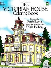 Victorian House Adult Colouring Book Creative Gift Relaxing Art Therapy Calm NEW