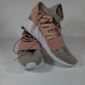Adidas Tubular Doom PK Lace Up Mens Sneakers Shoes Casual Tan