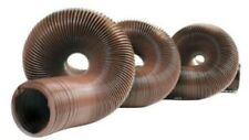 20 Ft Heavy Duty Sewer Hose Plumbing Accessory Rv Part Camp Trip Summer Brown