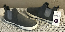 NEW CAT & JACK TODDLER BOYS GREY GRAY ANTON SLIP-ON LOAFERS SHOES SIZE 11 NWT