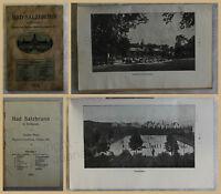 Orig. Werbeprospekt Bad Salzbrunn 1914 Niederschlesien Ortskunde Landeskunde xy