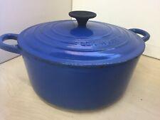 Le Creuset Enamelled Cast Iron Casserole Dish with Lid 25x12cm 31B