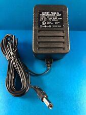 Direct Plug-In Transformer Unit Ac 120Vac 60Hz 20W Dc 12V 800mA Model Wp481012D