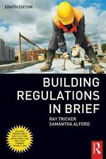BUILDING REGULATIONS IN BRIEF - NEW PAPERBACK BOOK