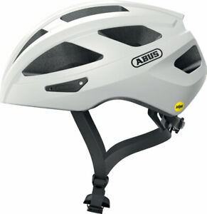 Abus Macator MIPS Helmet - White Silver, Large