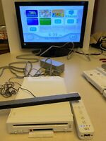 🔥 NINTENDO Wii 🔥 💯 TESTED & WORKING GAME SYSTEM GAME CUBE COMPATIBLE CONSOLE