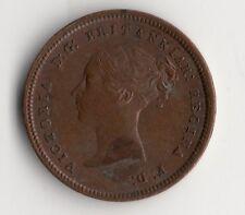ANGLETERRE UK @ UNITED KINGDOM @ RARE MONNAIE DE HALF FARTHING 1844 @ VICTORIA