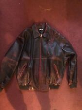 Pelle Pelle leather jacket Size 50 Burgundy red