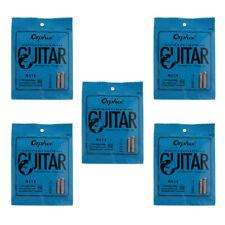 5 Packs Electric Guitar String Set E/B /G/ D A/ E for 6 String Guitar RX15