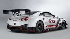 """Nismo Nissan GT-R GT3 2018  30x20"""" Canvas Wall Art Picture Print Framed"""