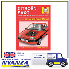 HAYNES CAR MANUEL FOR CITREON SAXO 1996 TO 2004 N TO 54 REG