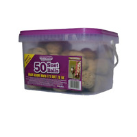 Suet To Go Insect Balls in Tub Wild Bird Treat, 50 x 90 g